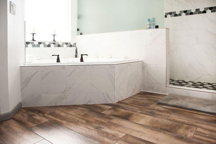 bathroom flooring installation cost