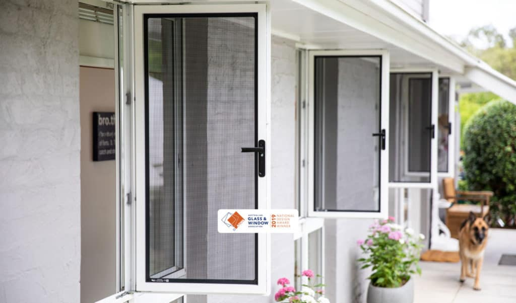 security screen door installation cost in california